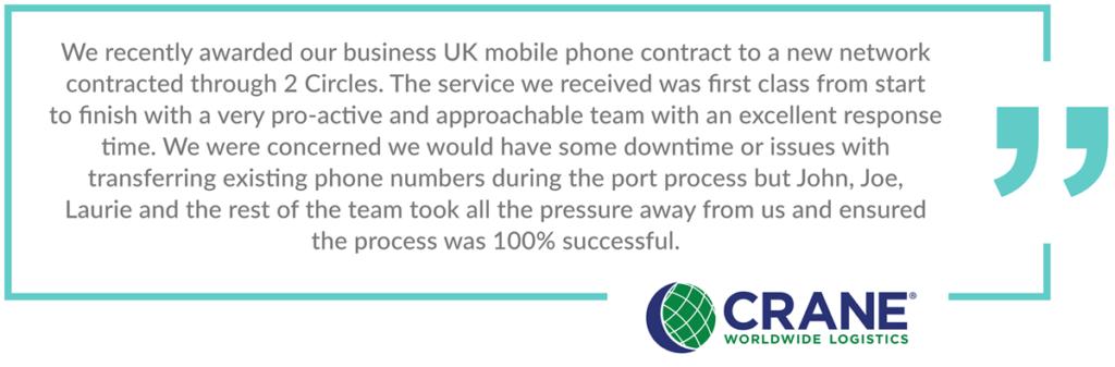 Aberdeen business telecoms crane review
