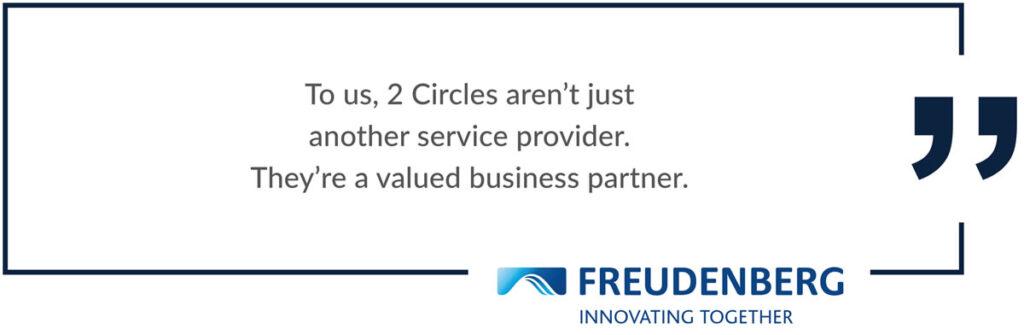 Aberdeen business telecoms Freudenberg review