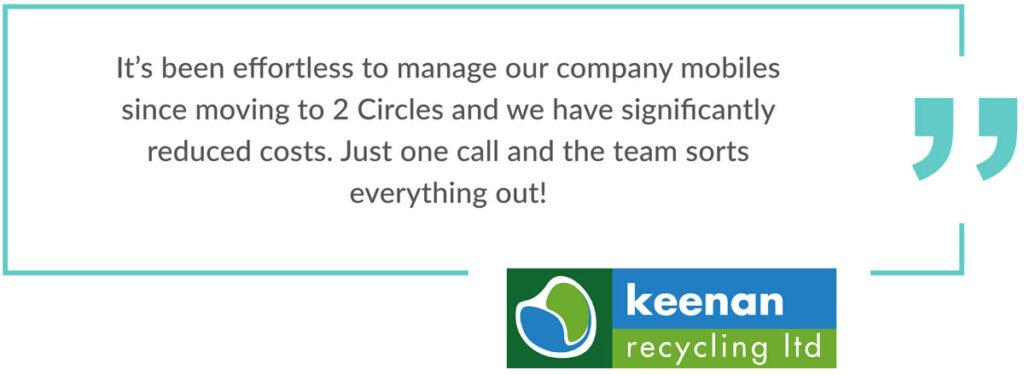 Aberdeen business telecoms Keenan review