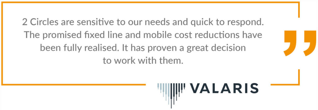 Aberdeen business telecoms Valaris review